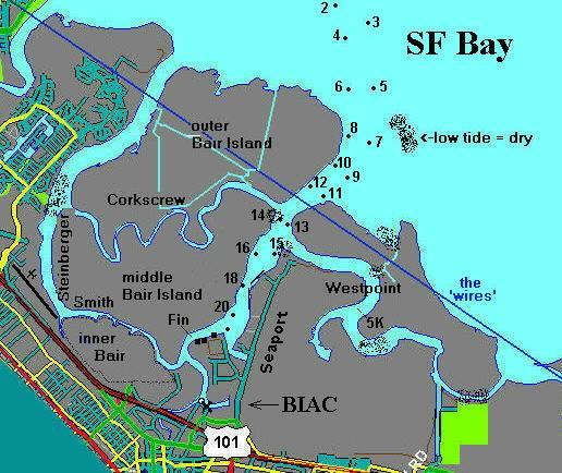 Birdwell Island Map